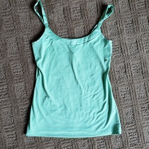 The Limited, sz Med mint green tank/cami